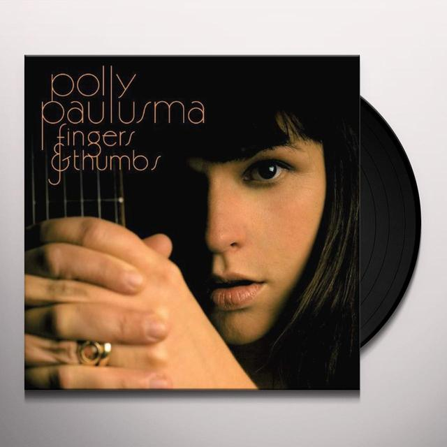 Polly Paulusma FINGERS & THUMBS: DIRECT METAL MASTER Vinyl Record