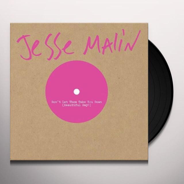 Jesse Malin DON'T LET THEM TAKE YOU DOWN Vinyl Record