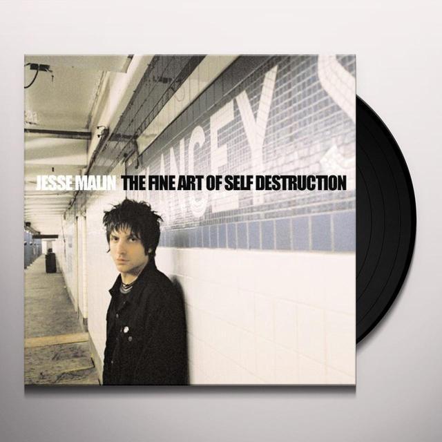 Jesse Malin FINE ART OF SELF: DIRECT METAL MASTER Vinyl Record