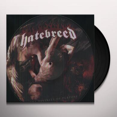 Hatebreed DIVINITY OF PURPOSE Vinyl Record - Picture Disc