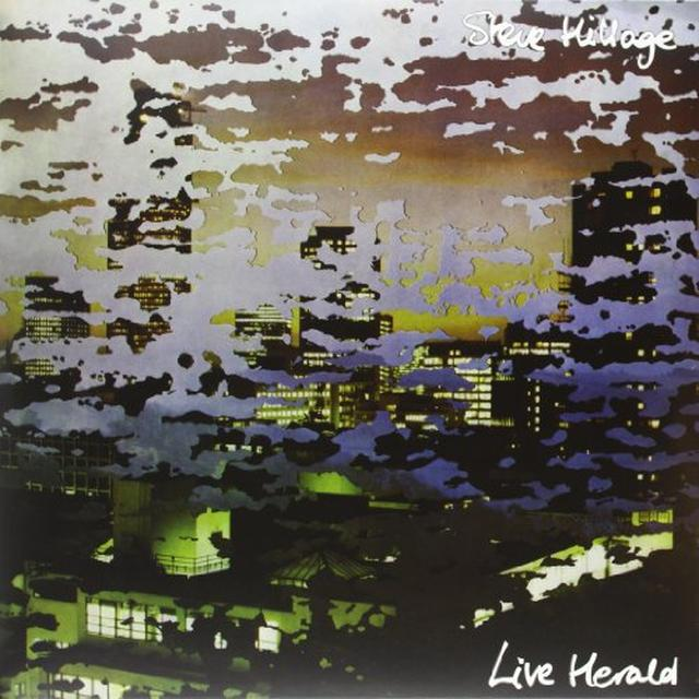 Steve Hillage LIVE HERALD Vinyl Record - Limited Edition