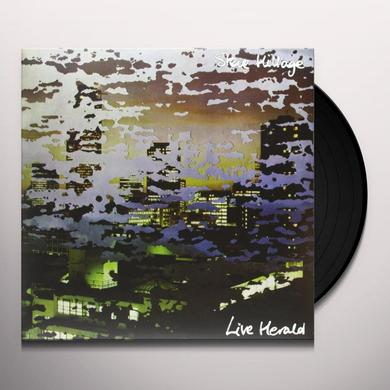 Steve Hillage LIVE HERALD Vinyl Record - Limited Edition