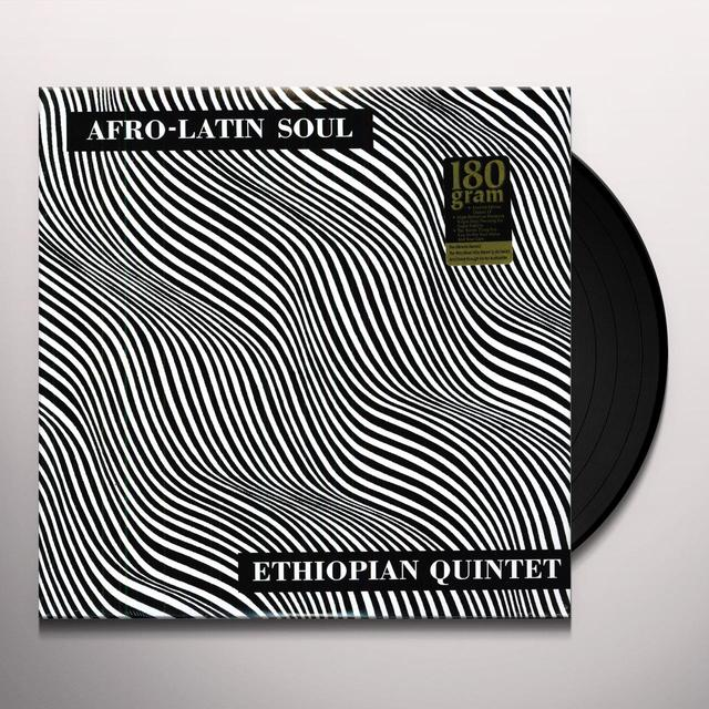 Mulatu & His Ethiopian Quintet AFRO-LATIN SOUL Vinyl Record
