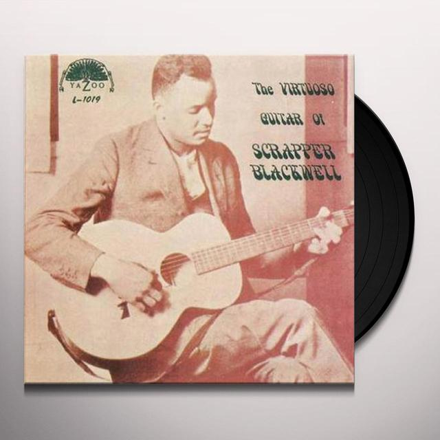 Scrapper Blackwell VIRTUOSO GUITAR OF Vinyl Record