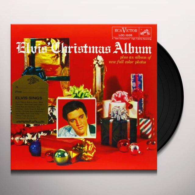 ELVIS' CHRISTMAS ALBUM Vinyl Record