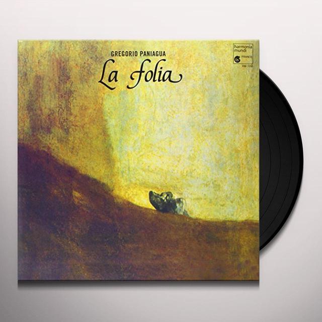 Dr. Don Gorio Paniagua Rodriguez LA FOLIA DE LA SPAGNA Vinyl Record
