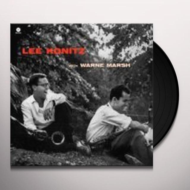 Lee Konitz WITH WARNE MARSH Vinyl Record