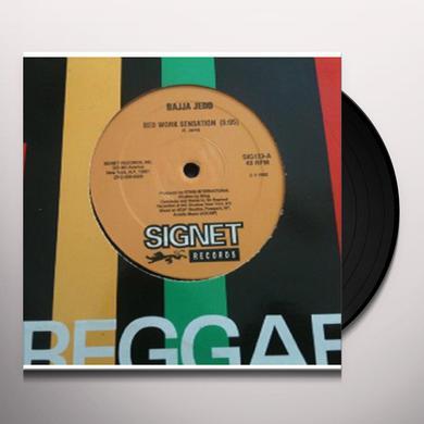 Bajja Jedd BEDWORK SENSATION Vinyl Record