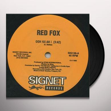 Red Fox & Nikey Fungus OOH AH AH/WHAYOU NYAM SO Vinyl Record