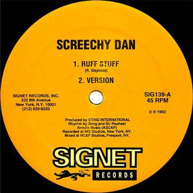 Screechy Dan RUFF STUFF/THINGS A GWAN FI YU Vinyl Record