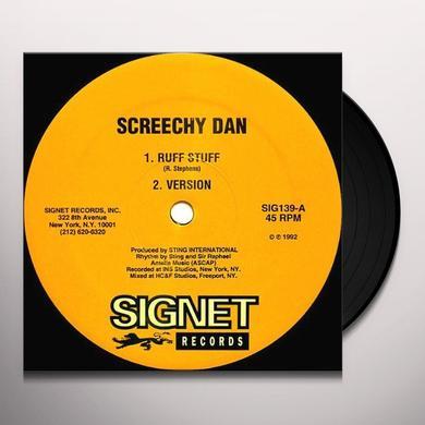 Screechy Dan RUFF STUFF/THINGS A GWAN FI YU Vinyl Record
