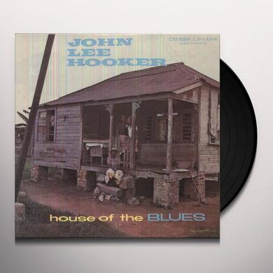 John Lee Hooker HOUSE OF THE BLUES Vinyl Record