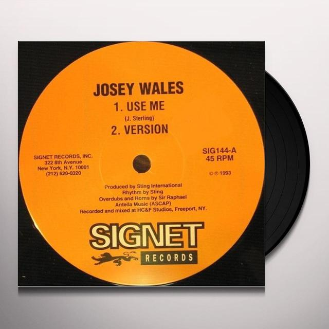 Josey Wales & Simon Templar USE ME / 21 CANDLES Vinyl Record