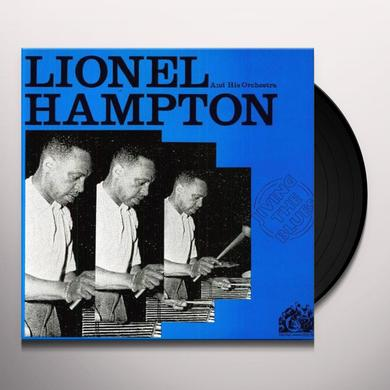 Lionel Hampton JIVING THE BLUES Vinyl Record