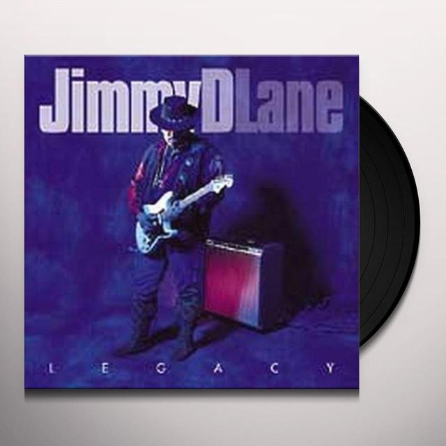 Jimmy D. Lane LEGACY Vinyl Record