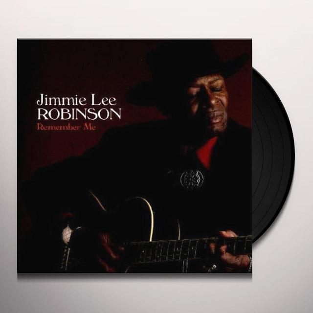 Jimmie Lee Robinson REMEMBER ME Vinyl Record