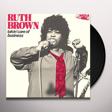 Ruth Brown TAKIN' CARE OF BUSINESS Vinyl Record