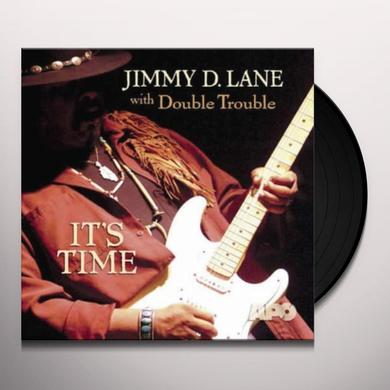 Jimmy D. Lane IT'S TIME Vinyl Record