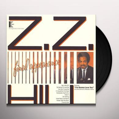 Z.Z. Hill FINAL APPEARANCE Vinyl Record