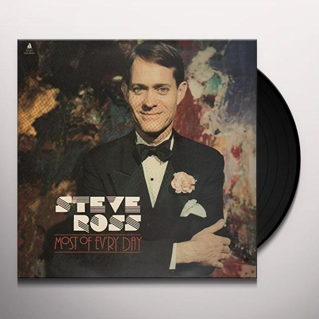 Steve Ross MOST OF EV'RY DAY Vinyl Record