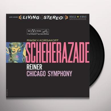 Fritz Reiner RIMSKY-KORSAKOV-SCHEHERAZADE Vinyl Record