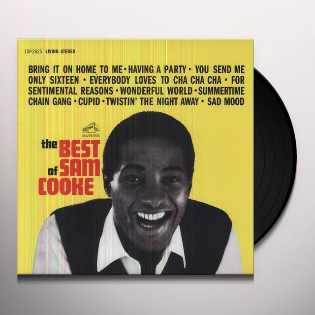 BEST OF SAM COOKE Vinyl Record