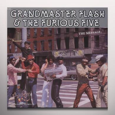 Grandmaster Flash & The Furious Five MESSAGE Vinyl Record - Colored Vinyl