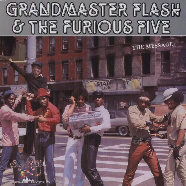 Grandmaster Flash & The Furious Five MESSAGE Vinyl Record - Colored Vinyl