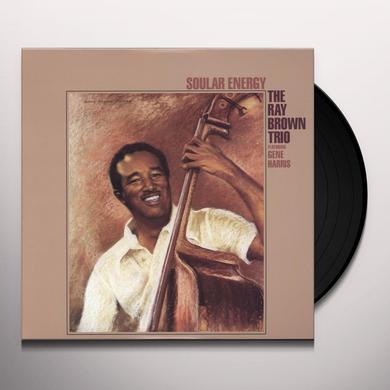 Ray Trio Brown SOULAR ENERGY Vinyl Record