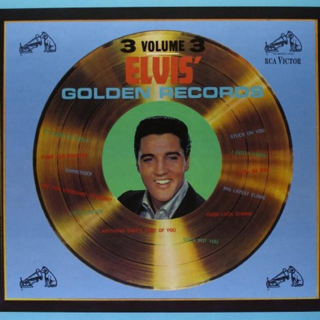 Elvis Presley GOLDEN RECORDS 3 Vinyl Record