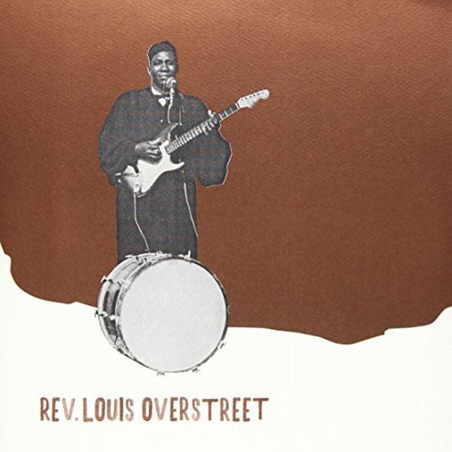 Rev. Louis Overstreet BLESSINGS Vinyl Record