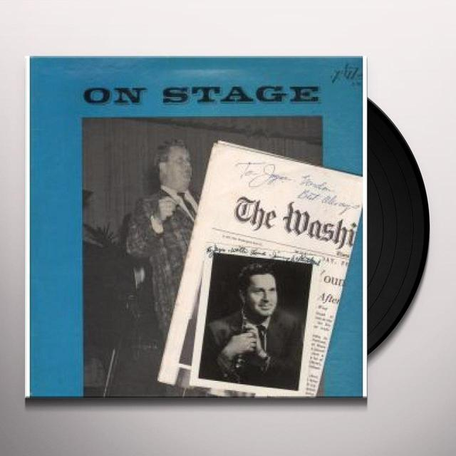 Jimmy Mcpartland ON STAGE Vinyl Record