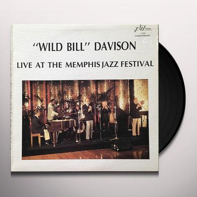 Wild Bill Davison LIVE AT THE MEMPHIS JAZZ FESTIVAL Vinyl Record