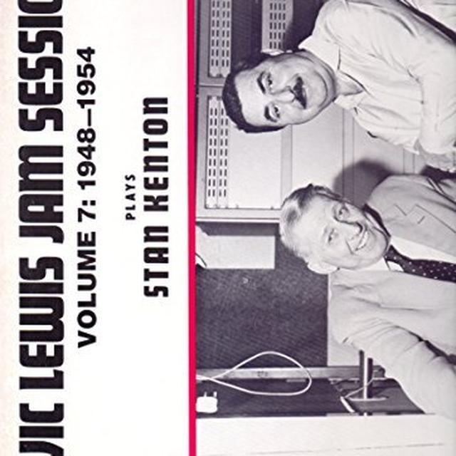 Vic Lewis JAM SESSIONS-PLAYS STAN KENTON 7 Vinyl Record