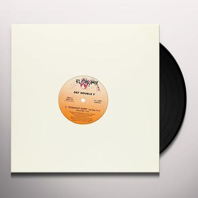 Def Double F STRAIGHT DOPE Vinyl Record