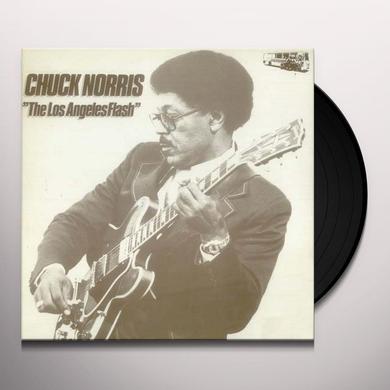 Chuck Norris LOS ANGELES FLASH 1980 Vinyl Record