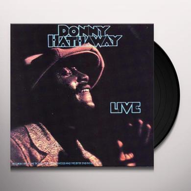 Donny Hathaway LIVE Vinyl Record