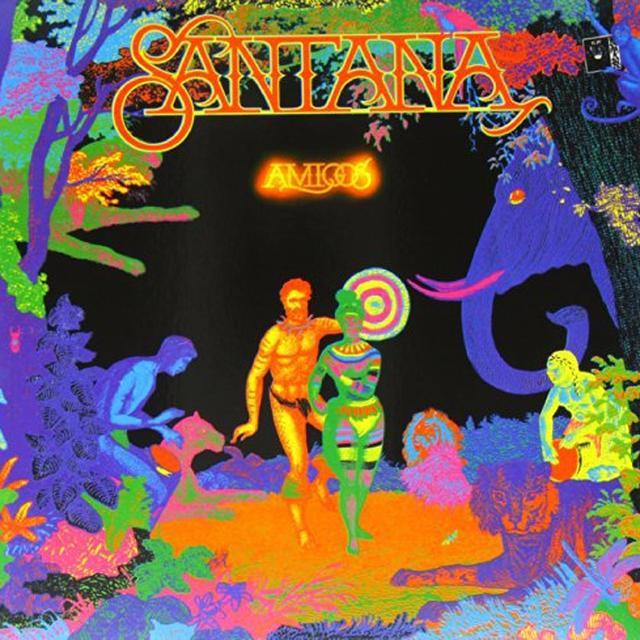 Santana AMIGOS Vinyl Record