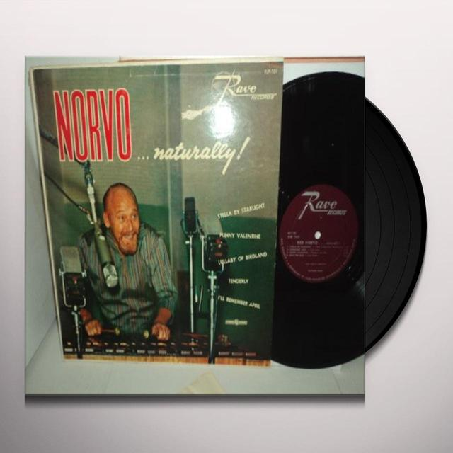Red Norvo NORVO NATURALLY Vinyl Record