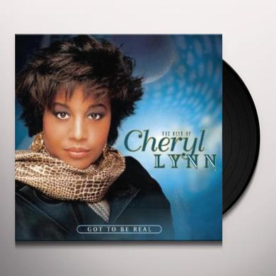 CHERYL LYNN 'GOT TO BE REAL' Vinyl Record