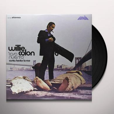 Willie Colon COSA NUESTRA Vinyl Record