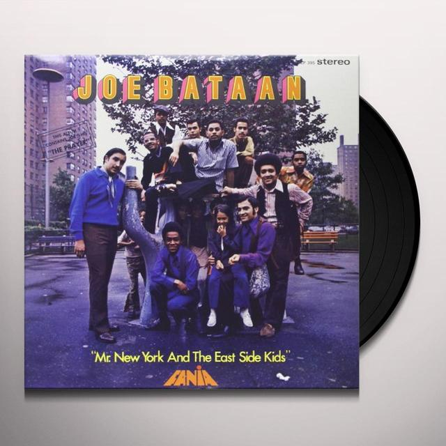 Joe Bataan MR. NEW YORK & THE EAST SIDE KIDS Vinyl Record