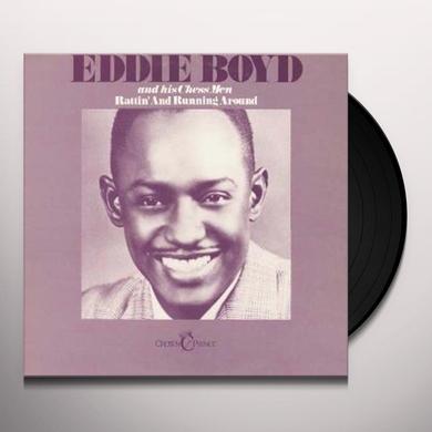 Eddie Boyd RATTIN & RUNNING AROUND Vinyl Record