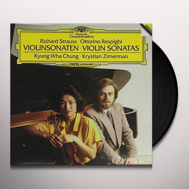 Kyung Wha Chung & Krystian Zimerman SONATAS FOR VIOLIN & PIANO Vinyl Record