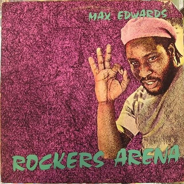 Max Edwards ROCKERS ARENA Vinyl Record