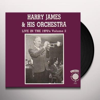 Harry James LIVE IN THE 70'S 2 Vinyl Record