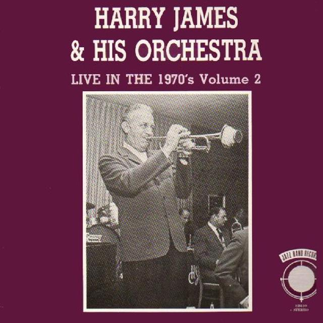 Harry James LIVE IN THE 70'S 2 Vinyl Record