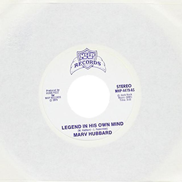 Marv Hubbard LEGEND IN HIS OWN MIND / COUNTRY BOOGIE Vinyl Record