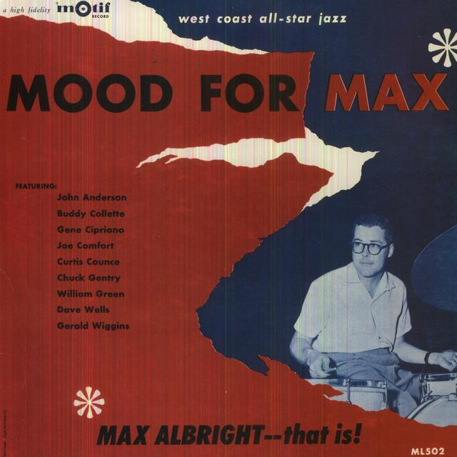Max Albright MOOD FOR MAX Vinyl Record