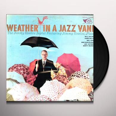 Jimmy Rowles WEATHER IN A JAZZ VANE Vinyl Record